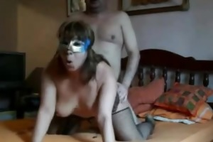 immodest aged couple on livecam