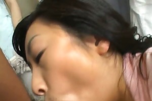 oriental wife is examining mmf workers