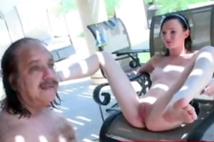 jenny anderson is group-fucked by a old man