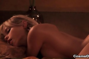 golden-haired cutie gets her taut wazoo drilled