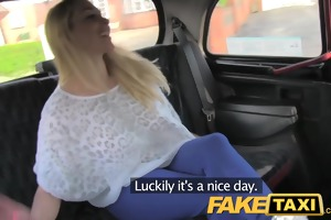 faketaxi hot blond with titties to die for