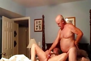 dilettante wife getting drilled with a sex toy