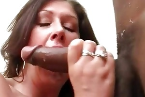 large breasted bitch wife copulates black hunk in