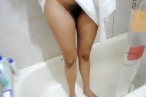 juanita wife acquire in a shower