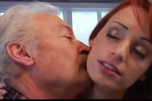 fortunate grand-dad gustavo fucks super hot