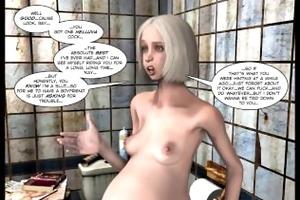 3d comic: raymond. behind the green door. videos