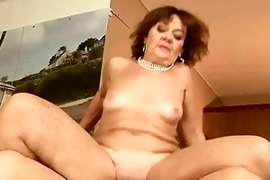unsightly granny getting fucked