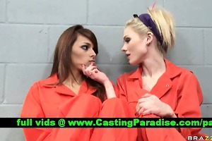 jayme valerie breathtaking lesbos in jail