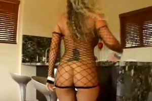 hawt fishnet fuck with the flawless kristal