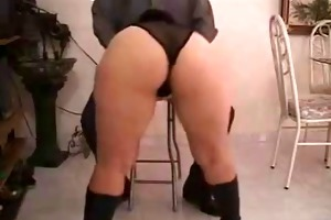 hot sexy gazoo d like to fuck in lengthy leather
