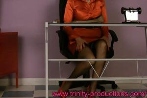 busty secretary mother i below the desk