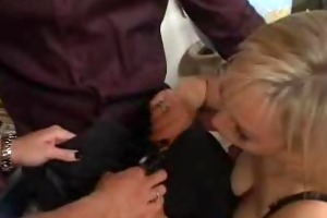 sexy blondes acquire screwed in the classroom