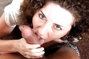 older housewife acquires a ramrod in her