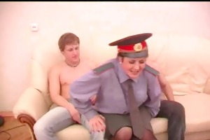aged play police rol with two boyz