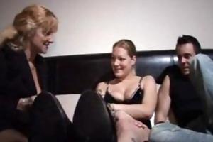 threesome german older older porn granny old