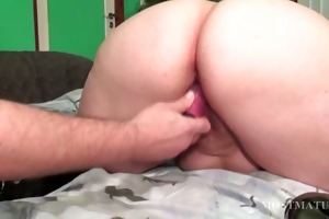 nasty aged acquires twat vibrated