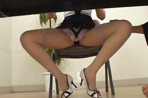 excited japanese milfs sucking and fucking