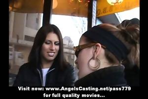 superb stunning brunette hair angel with petite
