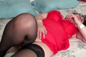 aged honey marital-device fucking her cum-hole