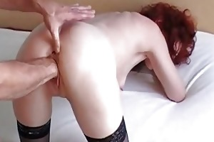 fist fucking my wifes loose twat