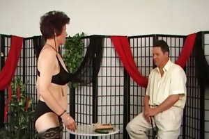older pair playing bdsm games part4