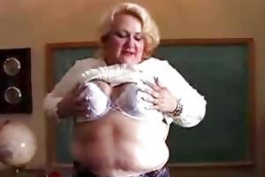 bulky mother i teacher has a wonderful little