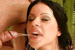 grandad fucking and pissing on youthful gal
