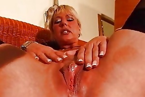 aged blonde enjoys her own body dbm movie
