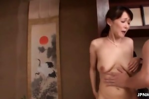 schlong loving japanese housewife can part1