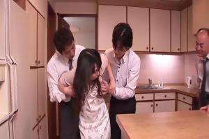 chihiro kitagawa handles many knobs out of