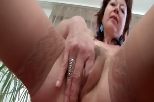 aged aroused sweetheart unfathomable fingering