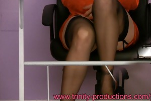 breasty nylons mother i office upskirt