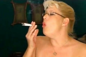 enormous smoking mother i
