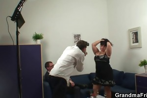 huge titted doxy gets lured into 3some