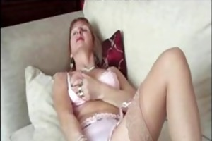 granny stocking playgirl bawdy cleft play older