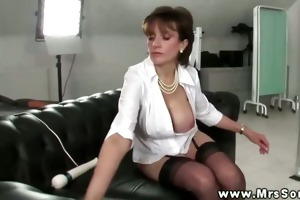 female-dom makes her subject expect as she is