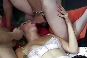older amateurs drilled at an fuckfest