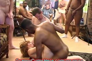 booty licking, cum sucking, swinger grannies