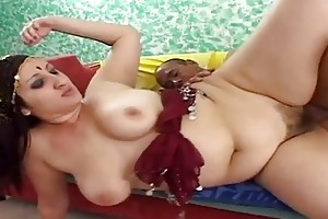 indian wife opens her snatch for a large ramrod