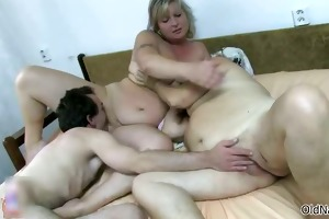 naughty old bitches go mad getting drilled