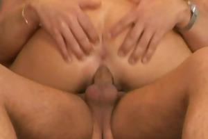 non-professional milf anal act with facial spunk