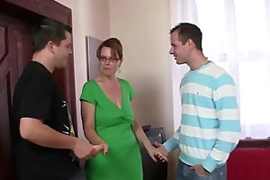 sexy woman takes dicks at one time