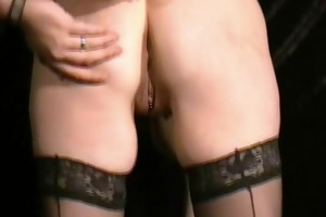 buttplugged mature wife slaves humiliation and
