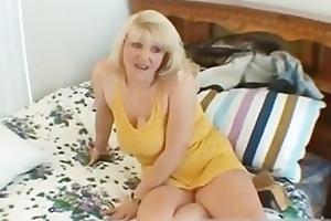 naughty mamma shows her juggs and sucks wang part4