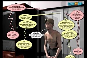 3d comic: sins 1