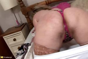 aged woman masturbation
