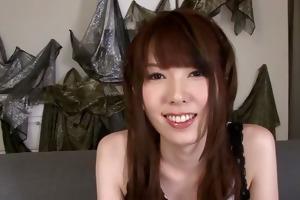 japanese chick nagatsuki ram diven betwixt her