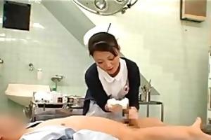 treatment has a nurse censored oriental cumshots