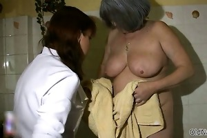 naughty old woman acquires slutty part4