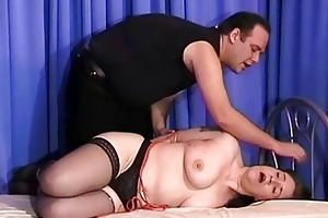 older jays busty sadomasochism and hogtied slavery